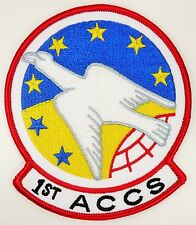 USAF 1st ACCS AIRBORNE COMMAND AND CONTROL SQUADRON PATCH