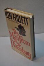 Ken Follett~The Man from St. Petersburg~1st Edition/1st Printing~1982~ Hardcover