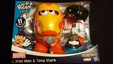 Mr Potato Head Iron Man / Tony Stark Pretend Play Playskool Hasbro Marvel Set