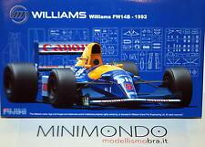 KIT MONTAGGIO WILLIAMS FW14B 1992 MANSELL PATRESE 1/20 FUJIMI 09197 9197 091976