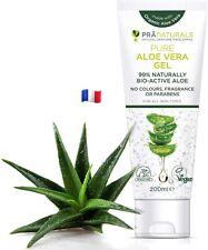 Gel À L'Aloe Vera Bioactif PraNaturals 200ml Apaisant Hydratant Nourrissant 2pcs