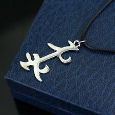 Mortal Instruments City of Bones Parabatai Rune Necklace Friendship Pendan GOOD