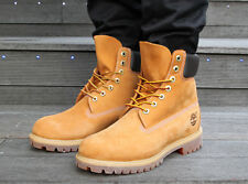 Timberland 6 Inch Premium Ghost White and Wheat Men's Boots