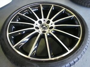 "1x Genuine Mercedes Rear W213 E-Class AMG 20"" Alloy Wheel Rim 9Jx20 A2134012300"