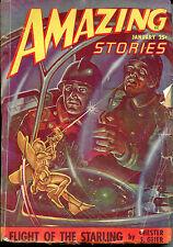 Amazing Stories-January, 1948-Chester S. Geier, Don Wilcox, Rog Phillips