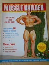 MUSCLE BUILDER bodybuilding fitness magazine/MILLARD WILLIAMSON 6-58