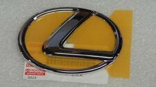 OEM *NEW* LEXUS IS250 IS350 CHROME FRONT GRILLE EMBLEM W PINS 2006 2007 08 09 10