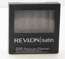 Revlon Satin Single Eye Shadow - 030 Platinum Glimmer, .08 Ounce (SEALED)