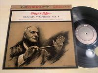 Bruno Walter Brahms Symphony No. 4 LP Columbia 6 Eye STEREO VG+