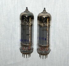 6P15P-EV = Equivalent EL83 / SV83 RUSSIAN VACUUM PENTODE TUBES , lot of 2 pcs