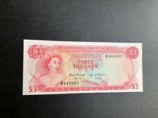 bahamas currency 3 dollars a2602