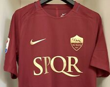 TOTTI shirt LIMITED EDITION MATCH Last Derby AS ROMA NIKE Football Legend L-XL