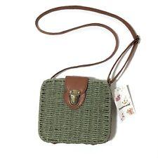 Woven Basket Crossbody Bag NWT