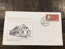 Stamps Denmark 🇩🇰 Fdc #845 Rasmus Rask linguist 1987