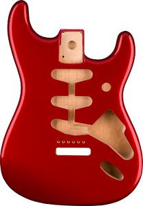 Fender Classic Series 60's Stratocaster SSS Alder Body Vintage Bridge Mount Red