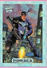 Marvel Masterpieces 1994  Silver Holofoil Card (6of 10) ( Punisher )