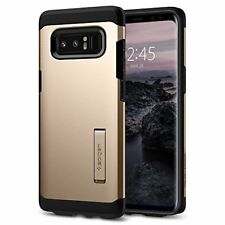 For Galaxy Note 8 Rugged Armor Shockproof Hybrid Case Cover with Kickstand Gold