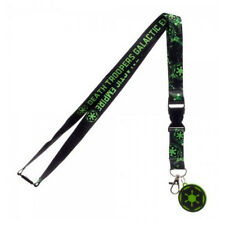 OFFICIAL STAR WARS ROGUE ONE - DEATH TROOPERS GALACTIC EMPIRE BLACk LANYARD *NEW