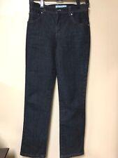 Charter Club Jeans Dark Wash Classic Narrow Leg Tummy Slimming Size 2P Petite