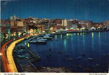 Postcard  Europe Malta The Strand Silema posted Hinde