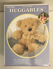 """New listing Huggables Latch Hook Teddy #36110 Brown Bear 14"""" - New Sealed in Box"""