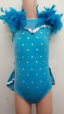 Dance Costume Small Child Teal Sassy Jazz Tap Character Solo Competition Pageant