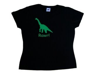Dinosaur Rawr! Funny Ladies T-Shirt