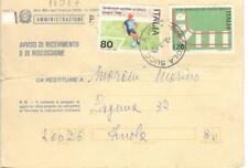 11017 - STORIA ITALIA 1980 - EUROPEI CALCIO - AVVISO RICEV.IMENTO.- VEDI  FOTO