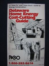 Delaware Home Energy Cost-Cutting Guide [Paperback] James W. Morrison