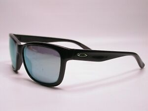 Oakley Sporty Gloss Black and Green Forehand Sunglasses Shades