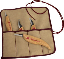 New Flexcut 4-Piece Carving Knife Set FLEXKN100