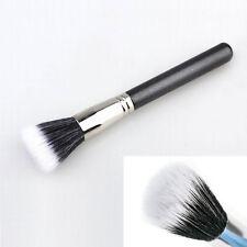 Black Fiber Foundation Powder Makeup Brush