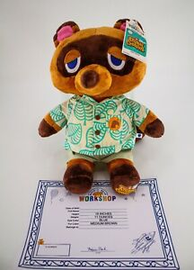 Build-A-Bear Animal Crossing New Horizons Tom Nook Gift w/ Phrases - Fast Ship