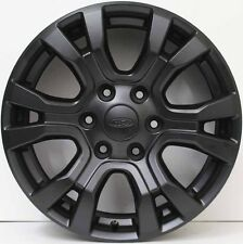 18 inch GENUINE FORD RANGER WILD TRACK 2016 MODEL ALLOY WHEELS IN MATTE BLACK