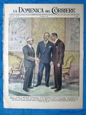 La Domenica del Corriere 13 marzo 1949 Bonzi,Lualdi - Granite - Giovanni Emanuel