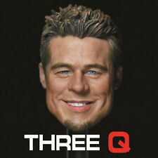 █ ThreeQ Brad Pitt Fight Club Tyler Durden 1/6 Head Sculpt Custom Muscular Body