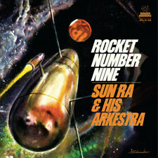 "SUN RA & HIS ARKESTRA Rocket Number Nine 10"" GREEN *SEALED* ayler mcphee"