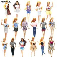 """Fashion Doll Clothes Set For 11.5"""" Doll Outfits Top Shirt Skirt Shorts Dress 1/6"""