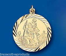 St. Christopher Yellow gold Saint Christopher Pendant 23mm