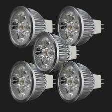 5PCS LED Spotlight Bulb 4W MR16 GU5.3 DC12V Warm White Spot Light Energy Saving