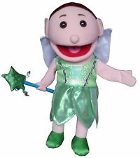 """Puppet Fairy 15"""" Ventriloquist.Play,Tell storys,Educational.Moving mouth &hands"""
