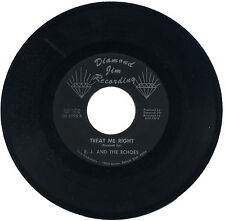 "E. J. & THE ECHOES  ""TREAT ME RIGHT c/w ONE OF THESE DAYS""   MONSTER    LISTEN!"