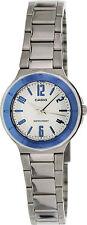 Casio Ladies Blue Metallic Dial Stainless Steel Dress Watch LTP-1367D-7A New