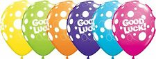"""Qualatex Good Luck Dots 11"""" Bright Colour Party Balloons for Helium or Air 25"""