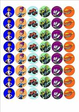 Blaze and the monster machines fairy cake decoration toppers x 48 on ICING