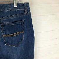 Bandolino Mandie womens 14 x L28 stretch blue med wash relaxed straight jean EUC