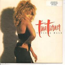 "45 TOURS / 7"" SINGLE--TINA TURNER--TYPICALE MALE / DON'T RETURN AROUND--1986"
