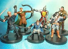 Dungeons & Dragons Miniatures Lot  Sweet Player Character Party !!  s114