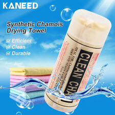 KANEED Fast Drying Synthetic Chamois Towel Super Absorbent Shammy Cloth For Car