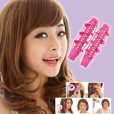 2Pcs Hair Curlers Rollers Magic Spiral Curling DIY Hairstyle Tools Salon Beauty